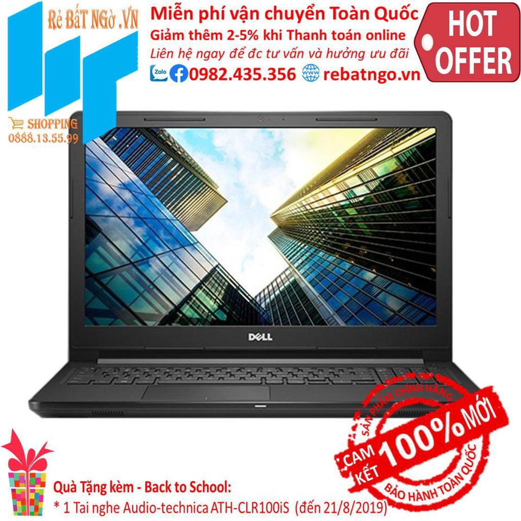Laptop Dell Vostro 3578-NGMPF22 15 inch HD_i5-8250U_4GB_1TB HDD_UHD 620_Ubuntu_2.2 kg - 22184255 , 2618533407 , 322_2618533407 , 13490000 , Laptop-Dell-Vostro-3578-NGMPF22-15-inch-HD_i5-8250U_4GB_1TB-HDD_UHD-620_Ubuntu_2.2-kg-322_2618533407 , shopee.vn , Laptop Dell Vostro 3578-NGMPF22 15 inch HD_i5-8250U_4GB_1TB HDD_UHD 620_Ubuntu_2.2
