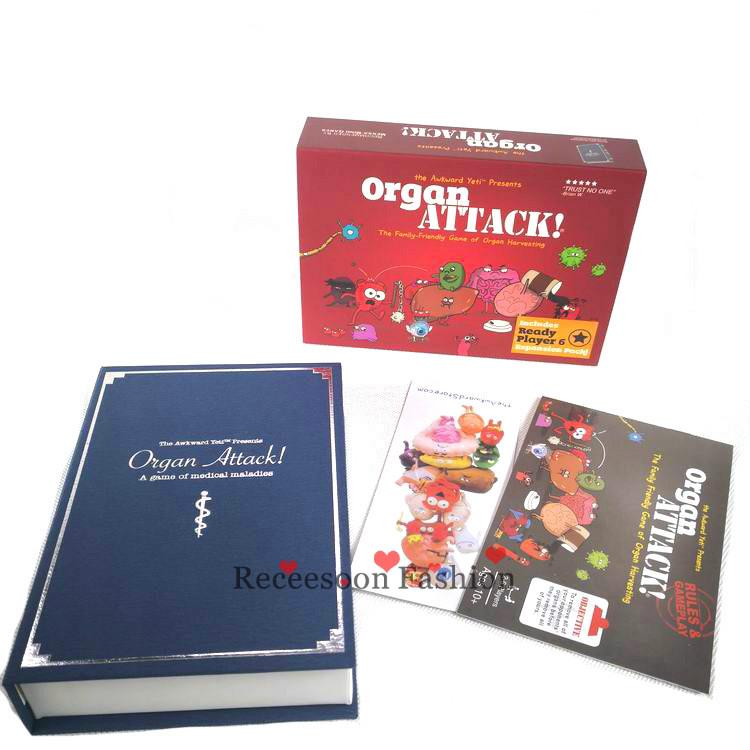 Board Game Organ Attack Game Adult Kids Gifts For Family Home Party Cards Games