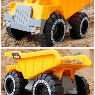 🚗 Xe tải đồ chơi nâng, hạ thùng xúc cát cho bé trai phát triển kĩ năng.