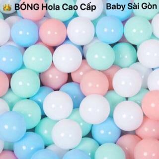 Sài Gòn set 100 bóng hola cao cấp đếm đủ và tặng sọt đựng