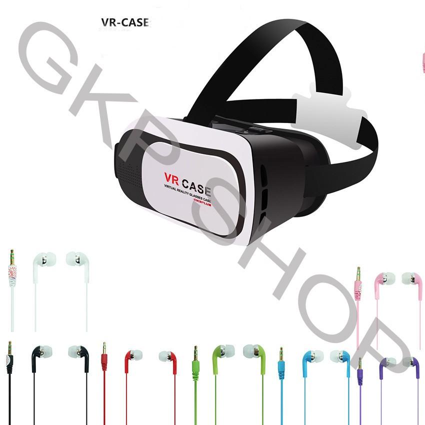 Combo kính xem phim 3D và tai nghe nhiều màu