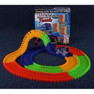 Đồ chơi đường đua 220 chi tiết – Bộ đồ chơi đường đua ô tô ma thuật magic track