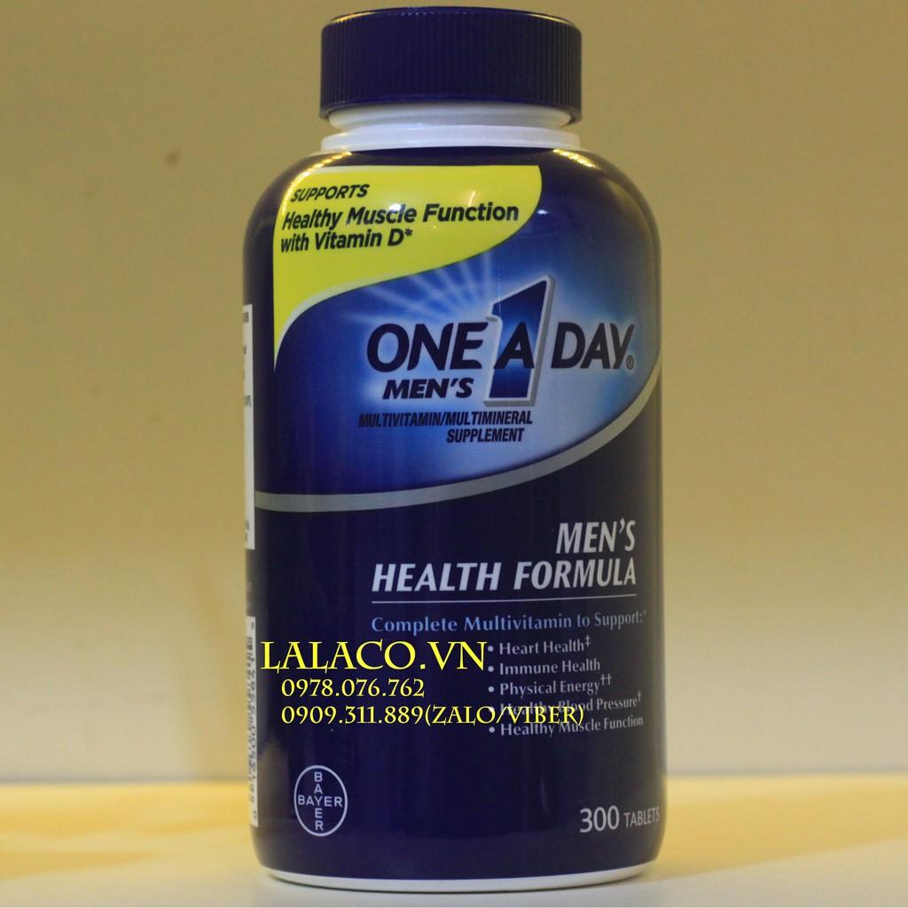 {Mẫu mới} viên uống One A Day Men Health Formula...