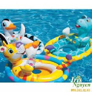 Phao bơi hình thú cho bé, phao bơi trẻ em, phao tập bơi