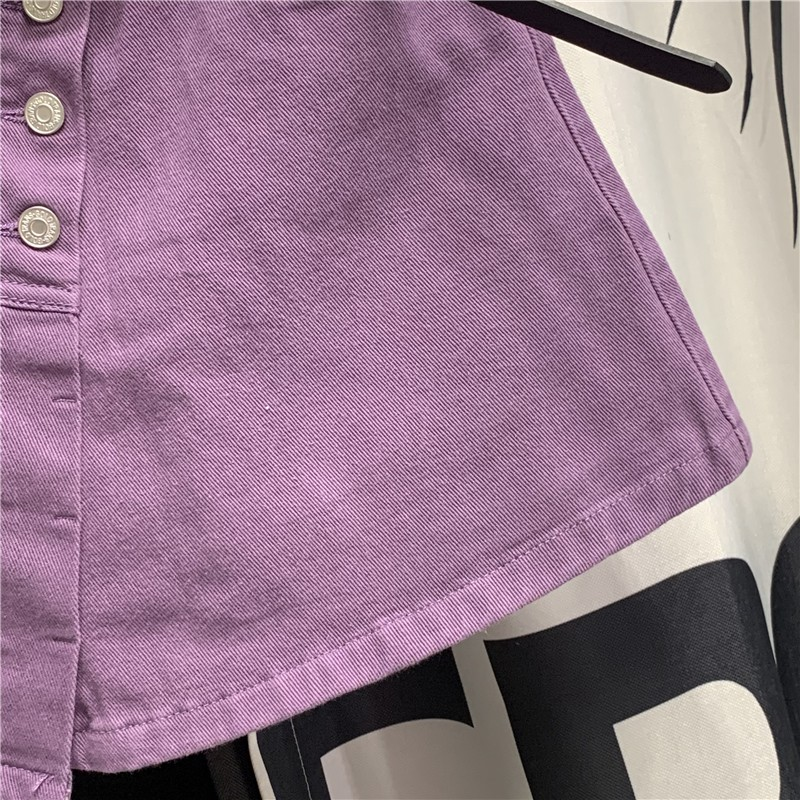 Chân Váy Phối Nút Xinh Xắn Theo Phong Cách Hàn Quốc Dành Cho Nữ 2020