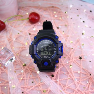 (Giá sỉ) Đồng hồ điện tử nam nữ SPORT A141 đèn Led nhiều màu cực đẹp dây cao su bền bỉ phong cách thể thao cá tính