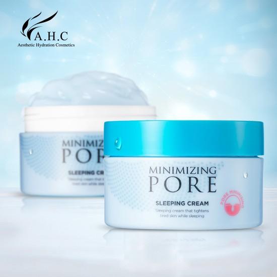 SALE 30% - Kem Ngủ Điều Tiết Bã Nhờn Se Khít Lỗ Chân Lông AHC Minimizing Pore Sleeping Pack