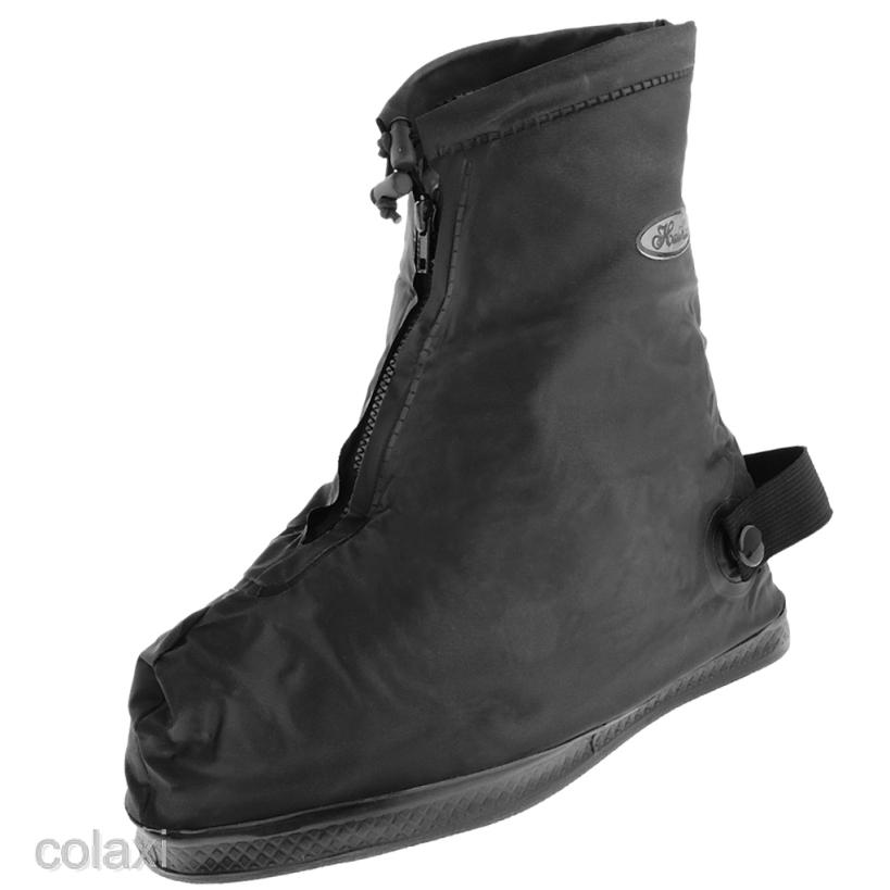 Ủng đi mưa và tuyết bọc giày màu đèn chống trơn dành cho nữ
