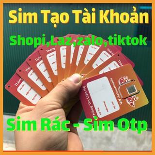 Sim Rác – Sim Vietnammobile Tạo Tài Khoản Shope,Fb,Zalo,Gmail,Tiktok,Laza…Hạn Lâu Dài, Nghe Gọi Nhắn Tin Nhận Code OTP