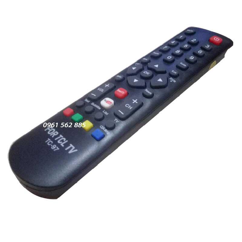 Điều khiển tivi TCL loại  ngắn-TC-97_Sử dụng cho Tivi LCD TCL