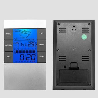 Đồng hồ điện tử đo nhiệt độ trong nhà màn hình LCD