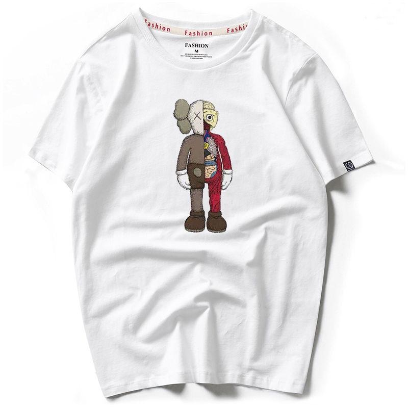 Áo thun tay ngắn dáng rộng in hình hoạt hình Sesame dễ thương cho nam/nữ