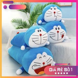 Gâ u Bông Doraemon - gô i ôm dorremon 1m, 1m2 đu biê u ca m, co a nh thâ t thumbnail