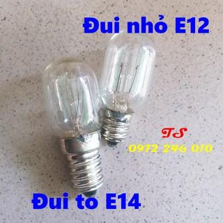 Bóng đèn tủ lạnh 15W đui xoáy chuôi E12 E14