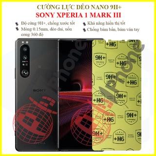 Dán cường lực dẻo nano Sony Xperia 1 Mark 3 (Xperia 1 III)