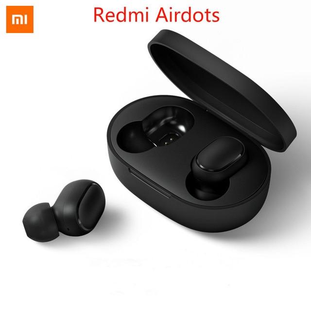 Tai nghe Bluetooth không dây Xiaomi Redmi airdots Pro với mic-đen