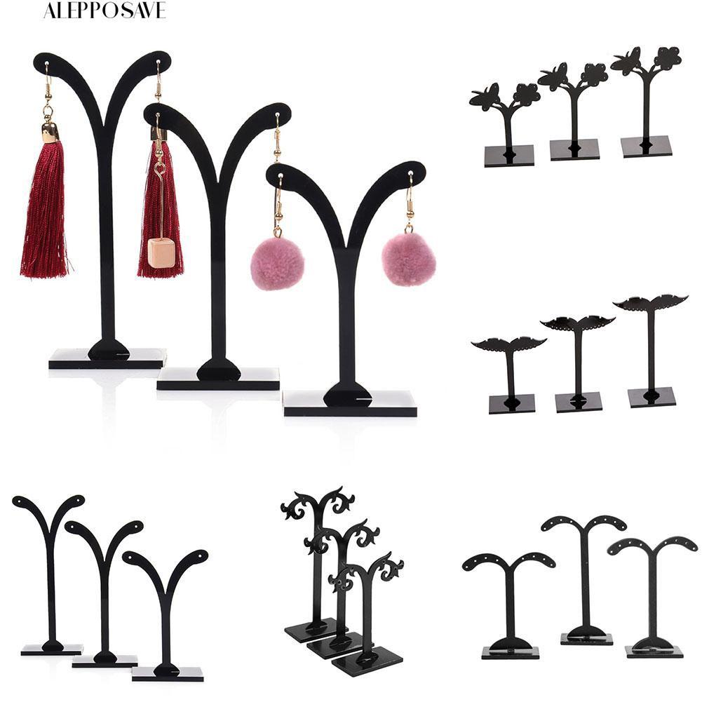 💝  ALE  3Pcs Crotch Ear Studs Jewelry Rack Storage Hanger Holder