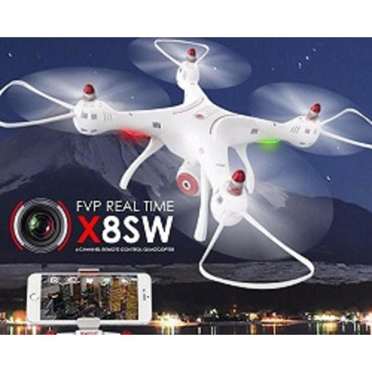 Flycam Drone Syma X8SW (Bản Châu Âu Cao cấp) Máy Bay Quay Phim - 2987401 , 1056774296 , 322_1056774296 , 2900000 , Flycam-Drone-Syma-X8SW-Ban-Chau-Au-Cao-cap-May-Bay-Quay-Phim-322_1056774296 , shopee.vn , Flycam Drone Syma X8SW (Bản Châu Âu Cao cấp) Máy Bay Quay Phim