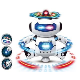 ROBOT thông minh nhảy múa theo nhạc xoay 360 độ