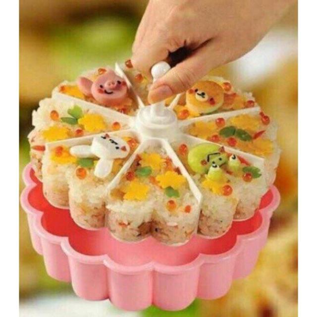 Khuôn làm xôi, rau câu, thạch, sushi...