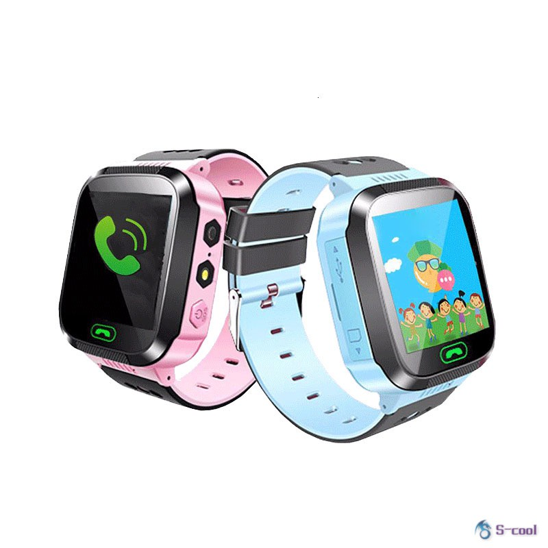 Children Anti-Lost GPS Smart Watch Kids SOS Call Location Wristwatch Students Safe Guard Watches