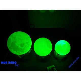 Đèn Mặt Trăng 3D Light Moon 16 màu Điều Khiển Từ xa 12cm