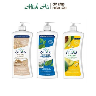 Sữa dưỡng thể St.Ives Body Lotion 621ml - mỹ phẩm MINH HÀ cosmetics thumbnail