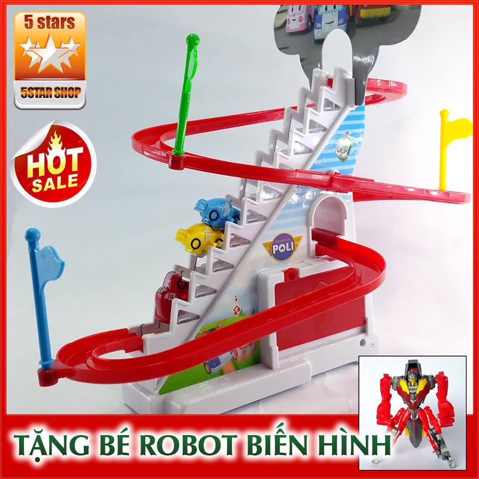 Bộ đồ chơi đua xe ôtô Poli cao cấp cho bé + Tặng free con quay spinner - 2902042 , 796832099 , 322_796832099 , 95000 , Bo-do-choi-dua-xe-oto-Poli-cao-cap-cho-be-Tang-free-con-quay-spinner-322_796832099 , shopee.vn , Bộ đồ chơi đua xe ôtô Poli cao cấp cho bé + Tặng free con quay spinner