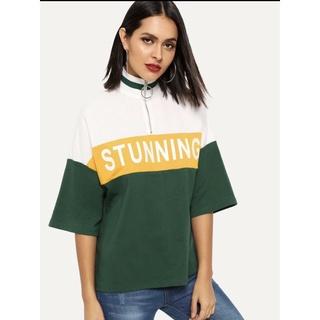 áo kiều thể thao phối màu hàng săn sale thumbnail