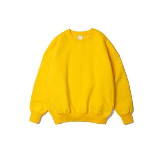 Sweater trơn dày lót lông - ẢNH THẬT thumbnail