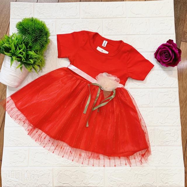 Váy Hoa siêu xinh cho bé gái