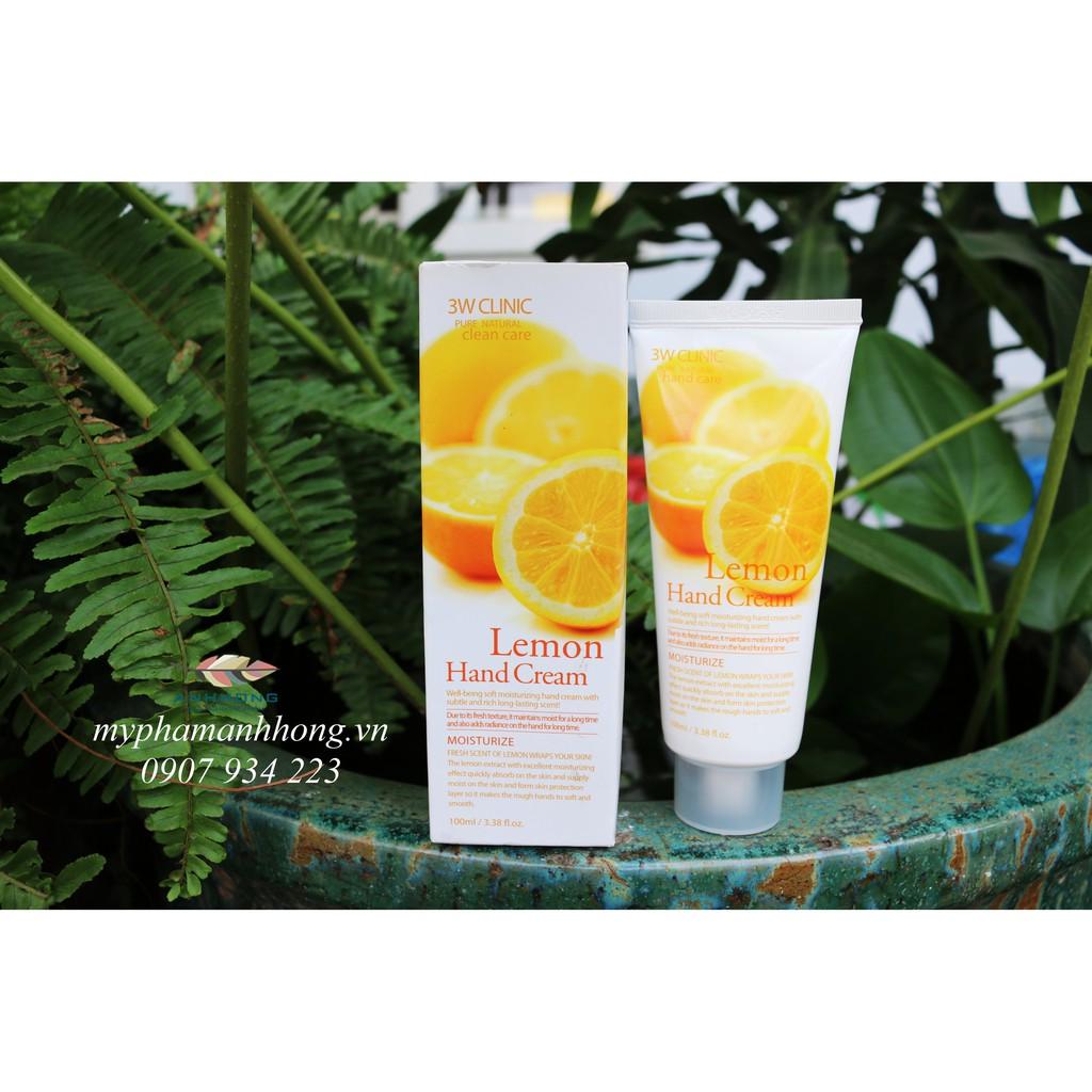 Kem Dưỡng Da Tay 3W Clinic Lemon Hand Cream - 2400535 , 664379822 , 322_664379822 , 60000 , Kem-Duong-Da-Tay-3W-Clinic-Lemon-Hand-Cream-322_664379822 , shopee.vn , Kem Dưỡng Da Tay 3W Clinic Lemon Hand Cream