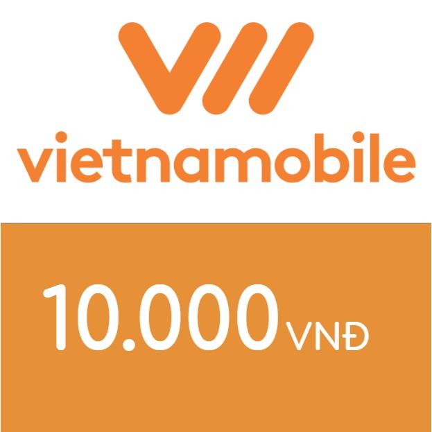 Mã thẻ điện thoại Vietnamobile 10K