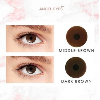 [LOẠI TỐT] Kính áp tròng thẩm mỹ Angel Eyes dành cho mắt bị đục thủy tinh thế, kéo mây, cườm... Lens che khuyết điểm thumbnail