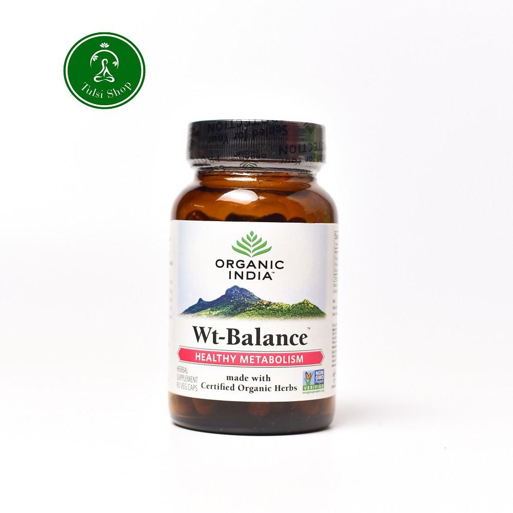 Viên uống hỗ trợ giảm cân Weight balance Organic India 90 viên