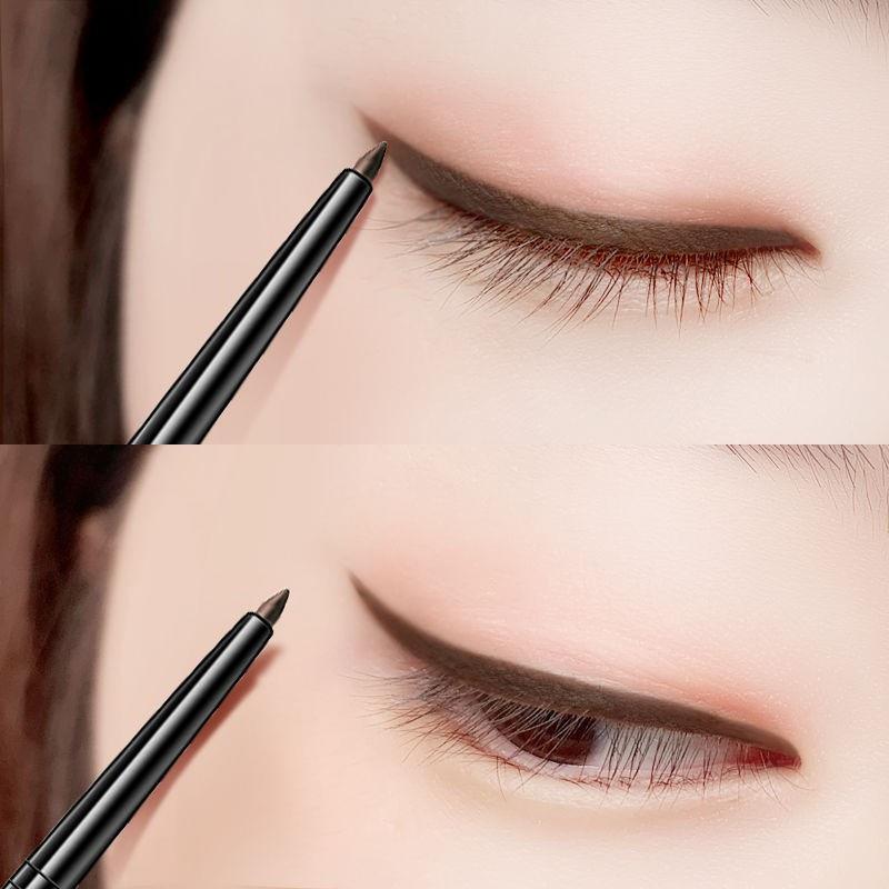 Bút kẻ mắt dạng xoay tự động chống thấm nước lâu trôi nhanh khô không phai màu cao cấp