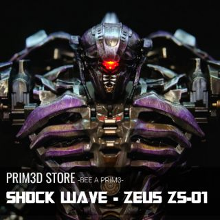 Mô hình Transformers ShockWave – Zeus ZS 01