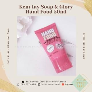 Kem dưỡng tay Soap & Glory Hand Food Hydrating Hand Cream 50ML