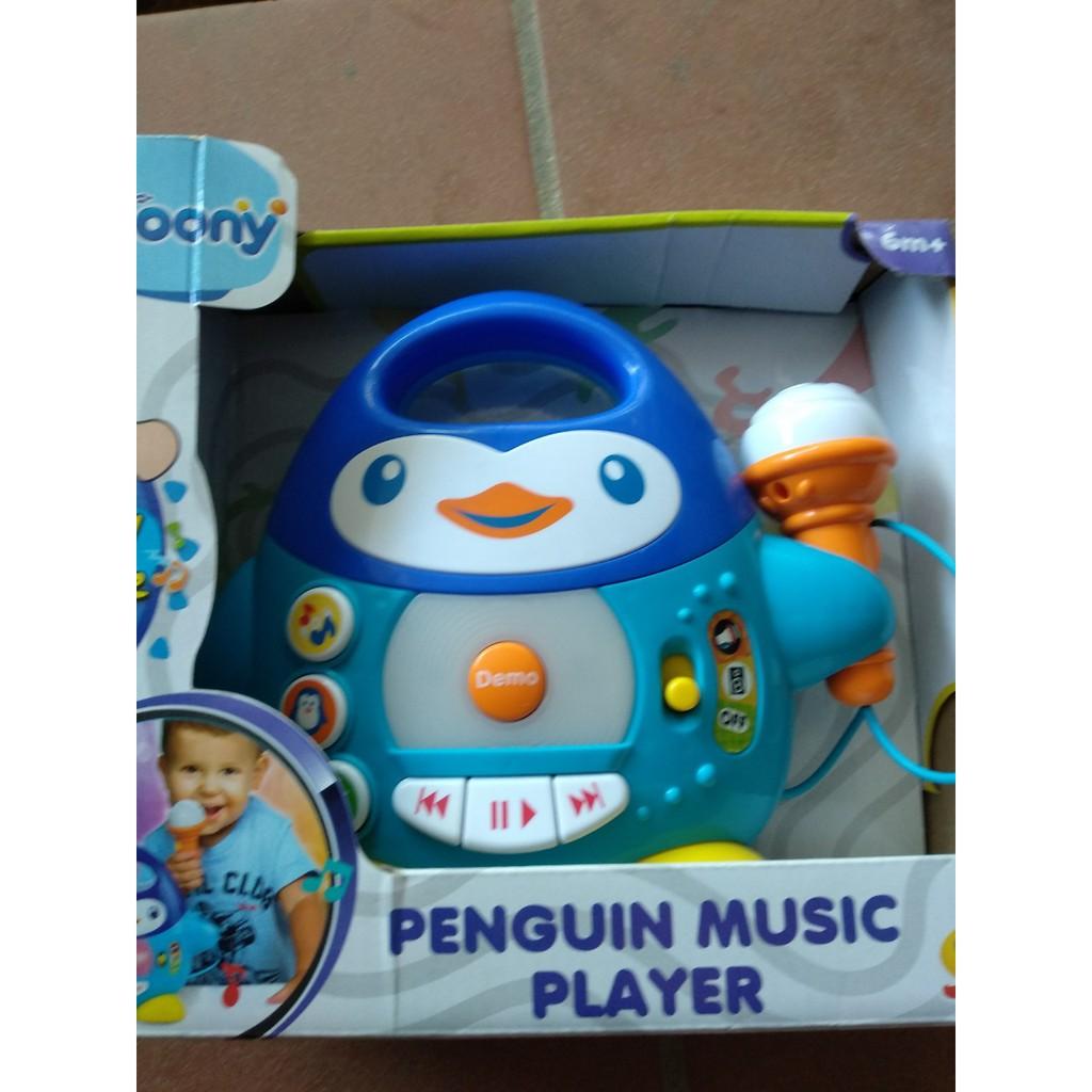 Đàn chim cánh cụt biết hát Winfun kèm mic quà tặng cao cấp từ Moony