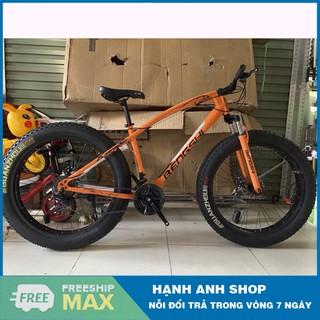 [ Hàng Chính Hãng ] Xe đạp thể thao Xe đạp leo núi bánh béo BENGSHI 26inch 4.0 - Nhập khẩu đài loan - Bảo hành 1 năm thumbnail