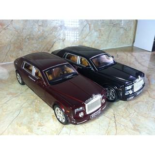 Đồ chơi mô hình xe Limousine Rolls-Royce Phantom 1:24