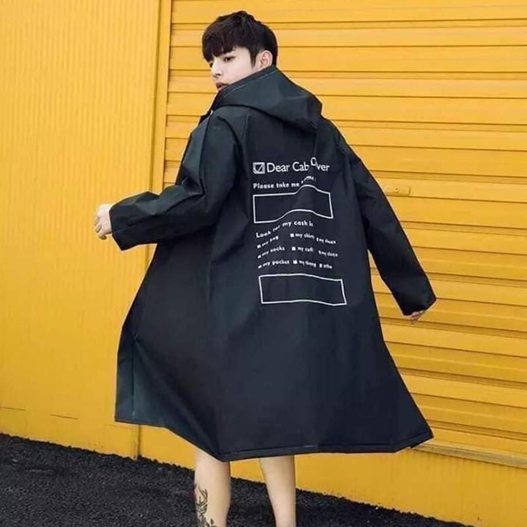 áo mưa phong cách hàn quốc siêu hít hót