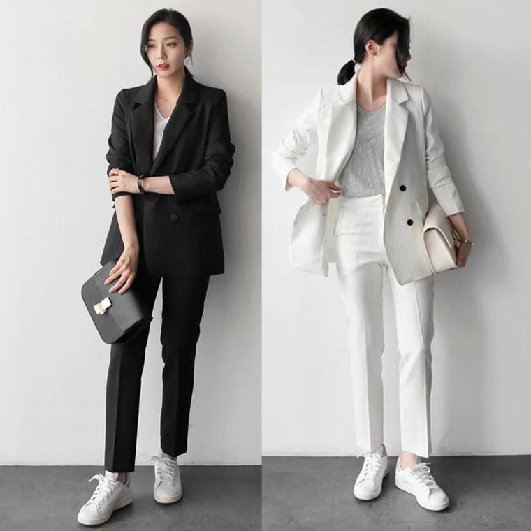 Set Blazer phong cách Công sở Hàn Quốc