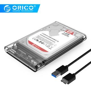 """HDD BOX 2.5"""" Orico 2139U3 ( Trong suốt ) Sata III USB 3.0 – Bảo hành 12 tháng !!!"""