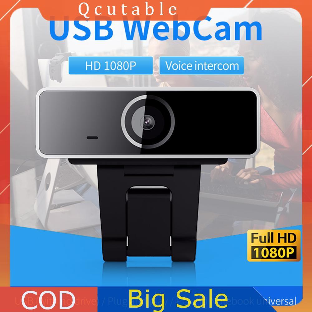 Webcam Full Hd 1080p 2mp Kết Nối Usb Kèm Mic