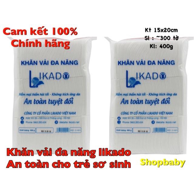 [CHÍNH HÃNG] Khăn giấy đa năng Likado 400g/ 3