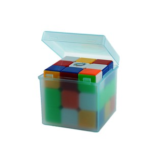 Random Color Plastic Saving Box Outer Packing for 3x3x3 Cube