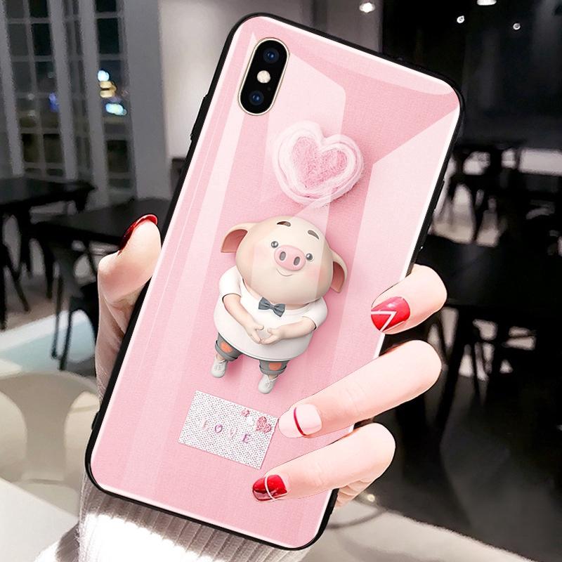 Ốp lưng mặt kính cường lực in hình heo chống nổ cho Xiaomi MI 8 MI 8 SE MI 8 Lite Mix 3 Mix 2S MI 6 6X - 14914324 , 2559654755 , 322_2559654755 , 147539 , Op-lung-mat-kinh-cuong-luc-in-hinh-heo-chong-no-cho-Xiaomi-MI-8-MI-8-SE-MI-8-Lite-Mix-3-Mix-2S-MI-6-6X-322_2559654755 , shopee.vn , Ốp lưng mặt kính cường lực in hình heo chống nổ cho Xiaomi MI 8 MI 8