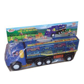 Xe ô tô Container chở 12 xe hơi nhỏ