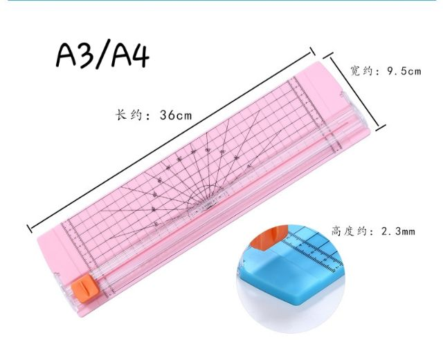 Dụng cụ cắt giấy A3/A4 tiện dụng